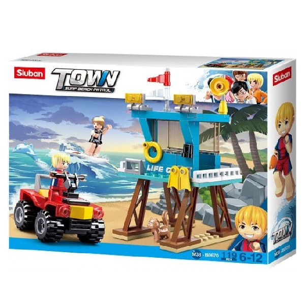 CONSTRUCTOR TOWN - BEACH RESCUE TOWER