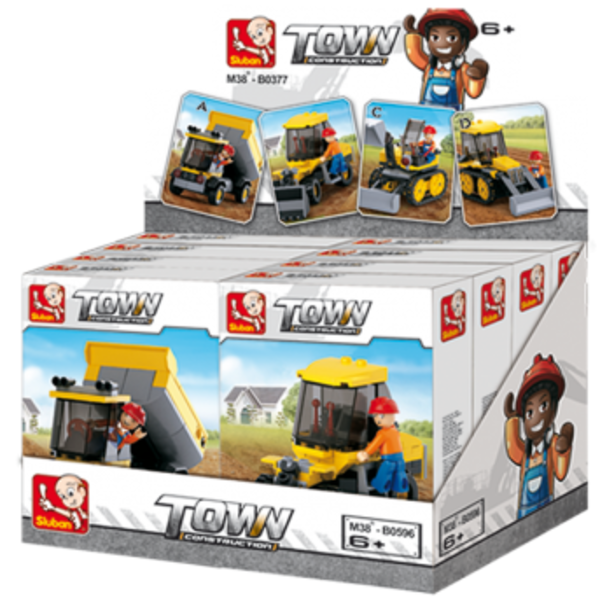CONSTRUCTOR TOWN - CONSTRUCTION 8/set