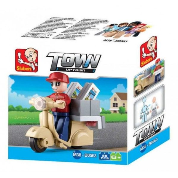 CONSTRUCTOR TOWN - COURIER