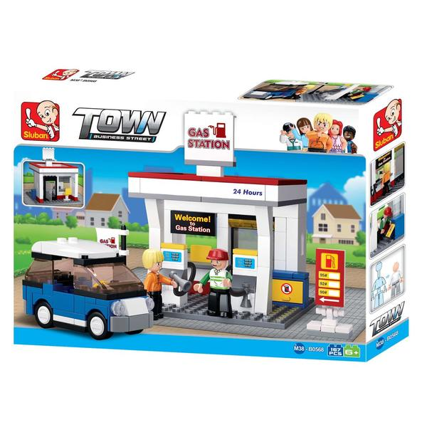 CONSTRUCTOR TOWN-GAS STATION