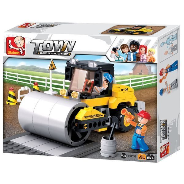 CONSTRUCTOR - TOWN Single Steel-Wheeled Street Roller