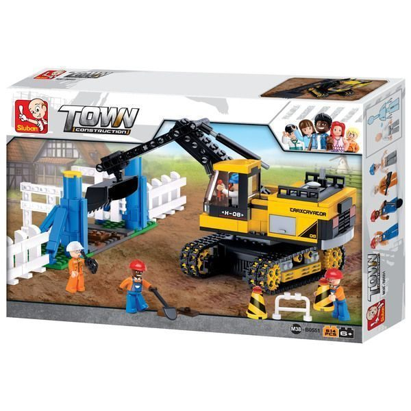 CONSTRUCTOR - TOWN Traxcavator