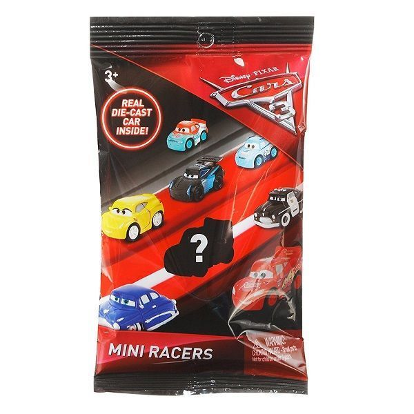 Cars 3 mini-masinute (as). Blind Pack
