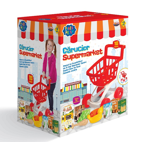 Carucior Supermarket (set 18 elemente)