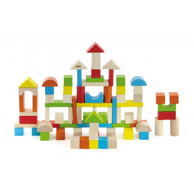 Colorful Block Set - 80pcs