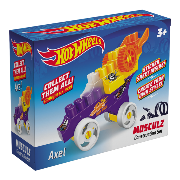 Constructor BAUER  HOT WHEELS  musculz Axel
