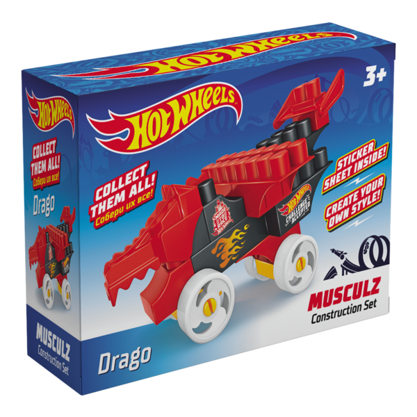 Constructor BAUER  HOT WHEELS  musculz Drago