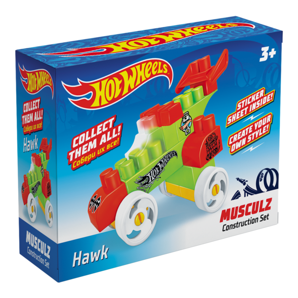 Constructor BAUER  HOT WHEELS  musculz Hawk