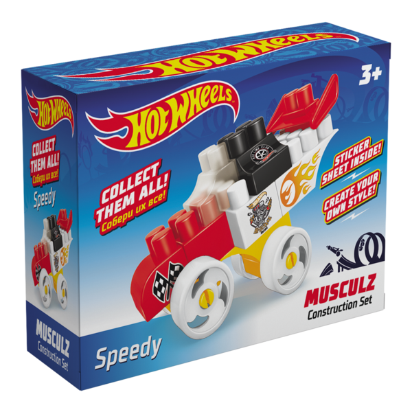 Constructor BAUER  HOT WHEELS  musculz Speedy