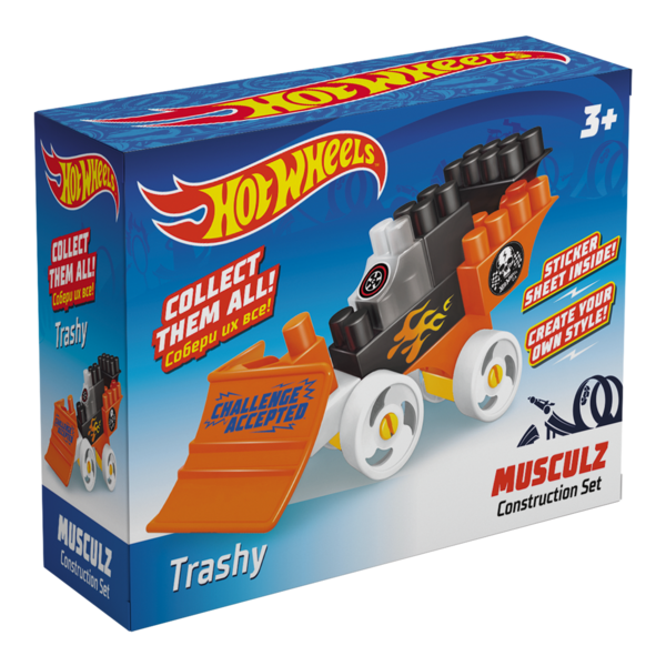 Constructor BAUER  HOT WHEELS  musculz Trashy