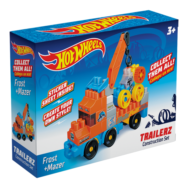 Constructor BAUER  HOT WHEELS  trailerz Frost + Mazer
