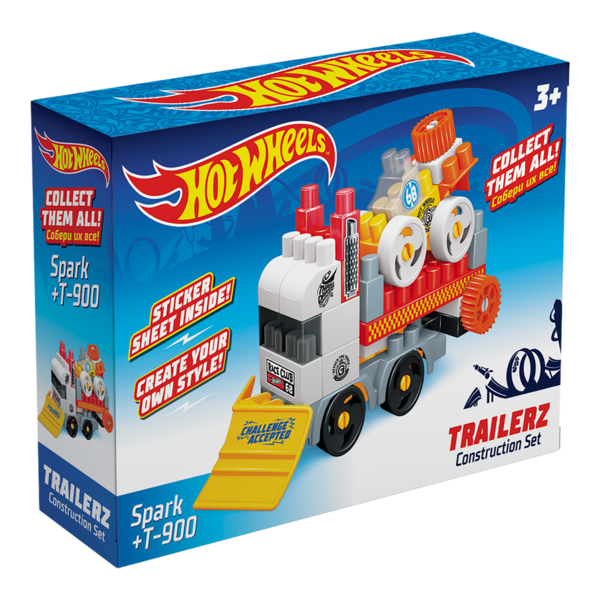 Constructor BAUER HOT WHEELS  trailerz Spark + T-900