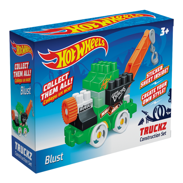 Constructor BAUER  HOT WHEELS  truckz Blust