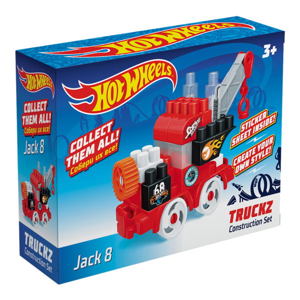 Constructor BAUER  HOT WHEELS  truckz Jack 8