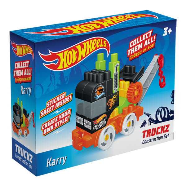 Constructor BAUER  HOT WHEELS  truckz Karry