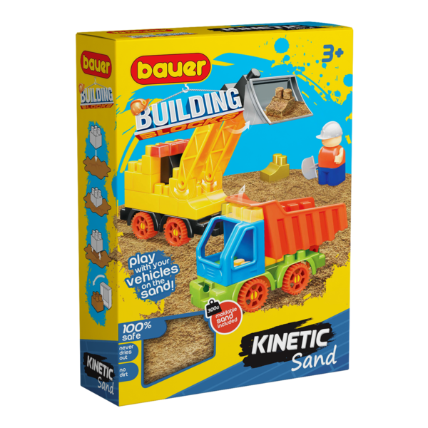 Constructor BAUER Kinetick Sand + Construction 2