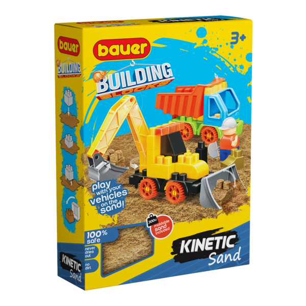 Constructor BAUER Kinetick Sand + Construction 3