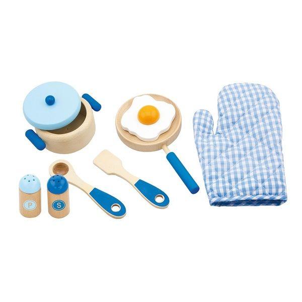Cooking Tool Set - Blue