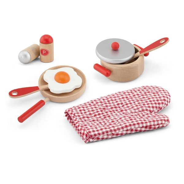 Cooking Tool Set  -Red