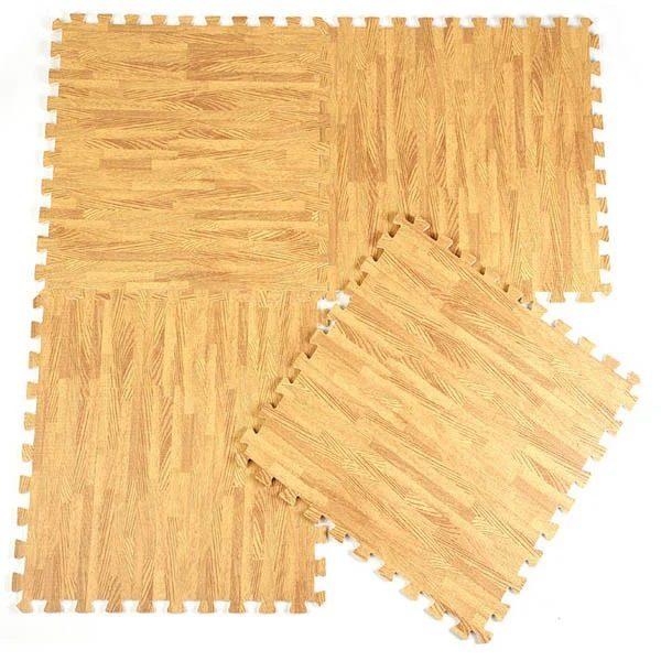 Covoras Puzzle Parchet 60x60 cm (4 buc.)