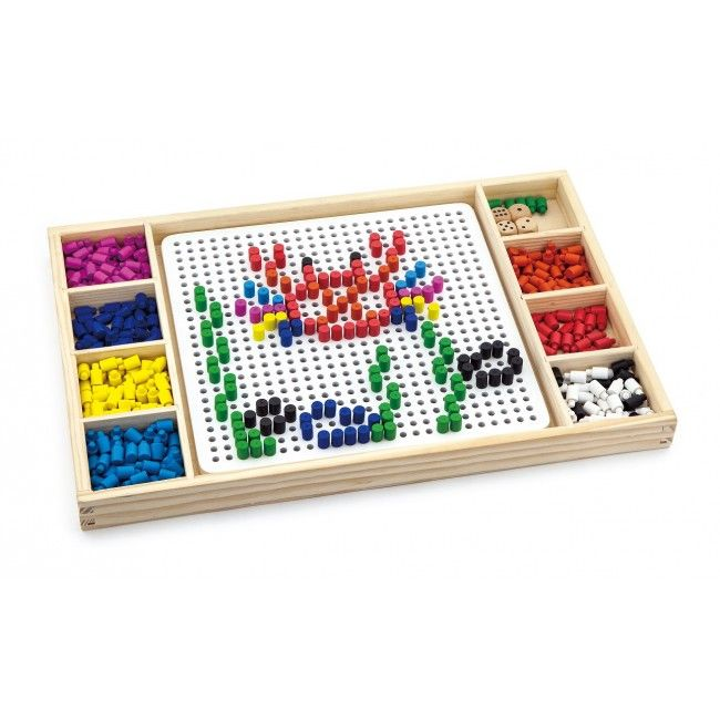 Create Pattern with Beads & Ludo