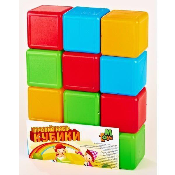 Cuburi Colorate 12 buc.