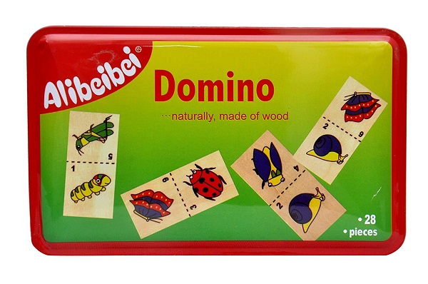 Domino pentru copii (insecte)