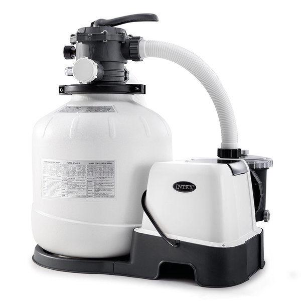 Filtru-Pompa Nisip cu Clorgenerator KRYSTAL CLEAR 10000L/ora