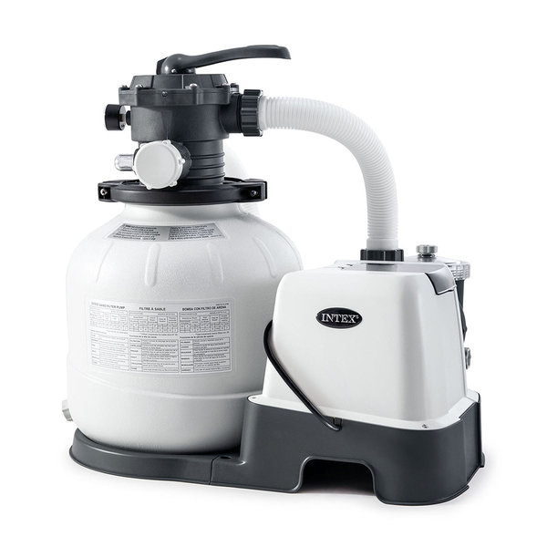 Filtru-Pompa Nisip cu Clorgenerator KRYSTAL CLEAR 7900L/ora