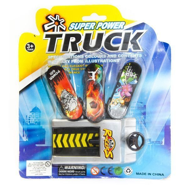 Finger Skateboard set 3 buc