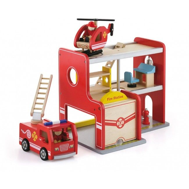 Fire Station w/Accessories