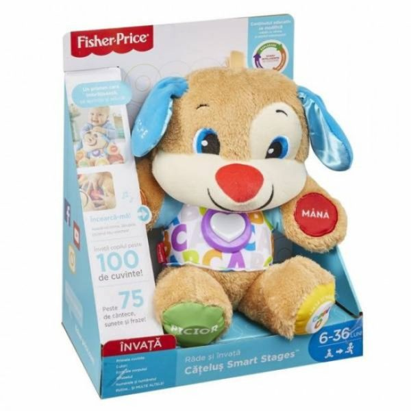 Fisher-Price Catelul Smart Stages (ro)