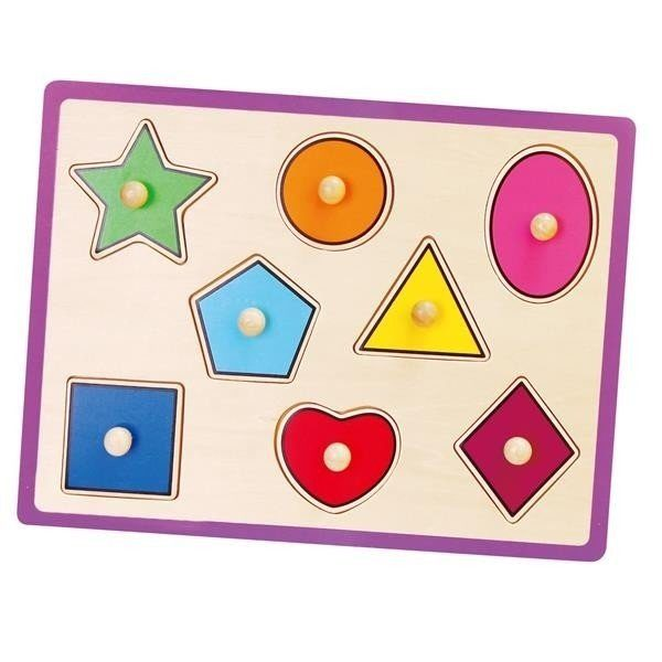 Flat Puzzle-Shapes