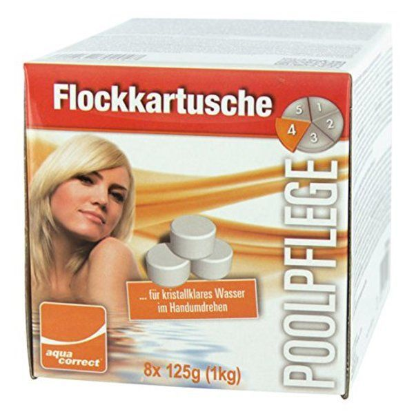 Floculant 8x125gr. 1kg Steinbach
