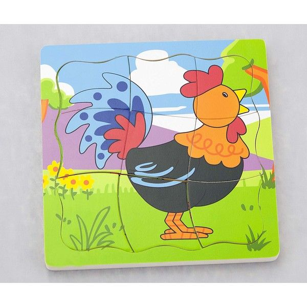 Grow-up Puzzle - Rooster