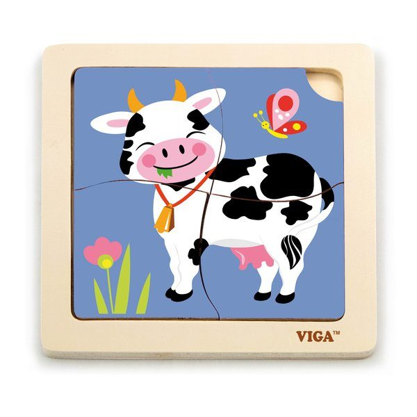 Handy Puzzle -Cow 24pcs/display