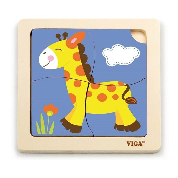 Handy Puzzle -Giraffe 24pcs/display