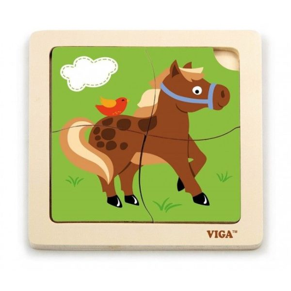 Handy Puzzle -Horse 24pcs/display