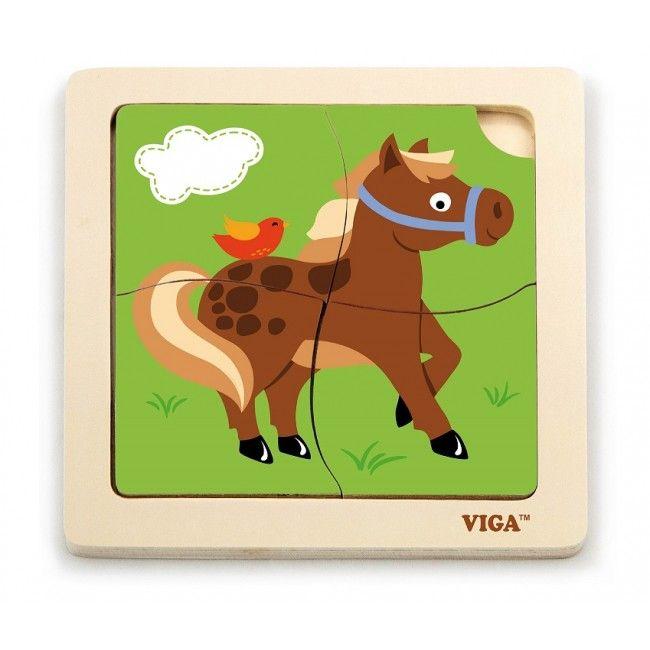Handy Puzzle -Horse 24pcs/display