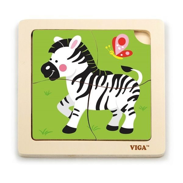 Handy Puzzle -Zebra 24pcs/display