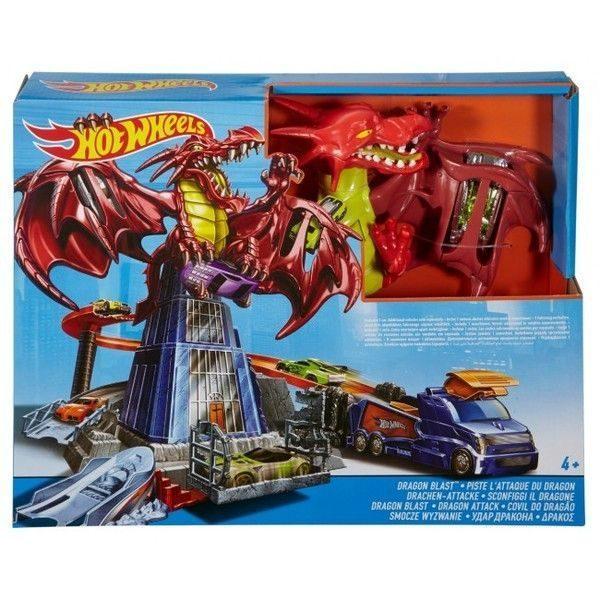 "Hot Wheels Игровой набор ""Atacul Dragonului"""