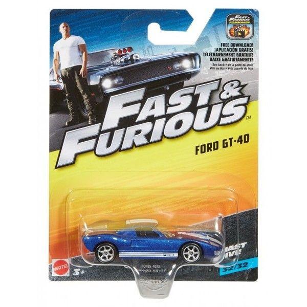 "Hot Wheels Машина ""Fast&Furious"" асс.(32)"