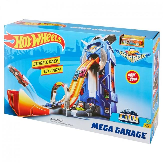 "Hot Wheels ""City Mega Garage"""