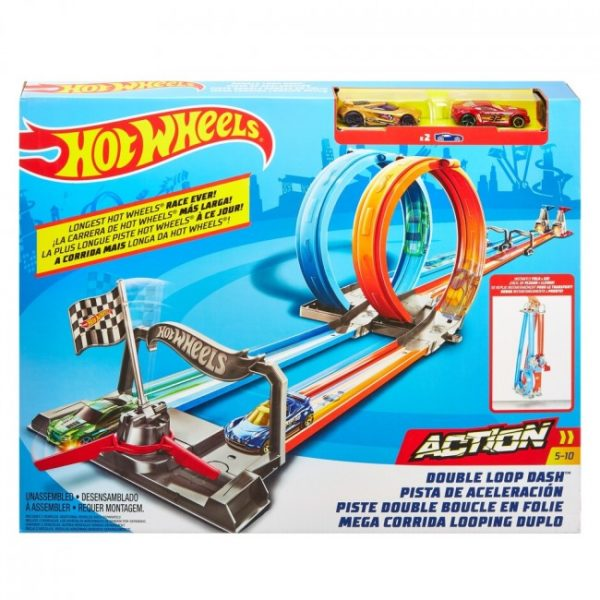 "Hot Wheels ""Double Loop Dash"""