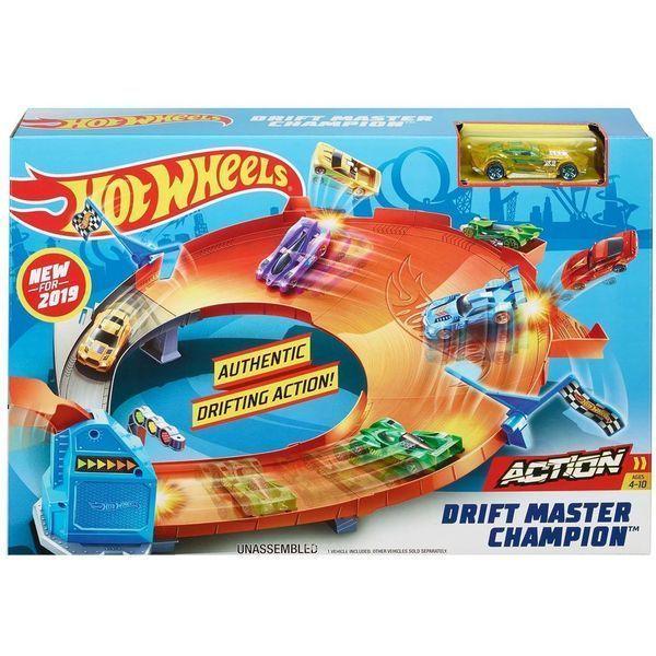 "Hot Wheels ""Drift Master Champion"" (as)."