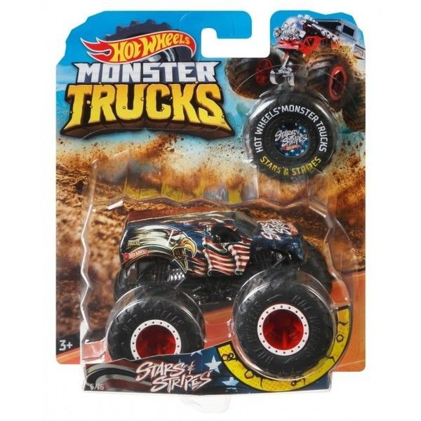 "Hot Wheels ""Monster Trucks"" masina de baza 1:64 (as)."