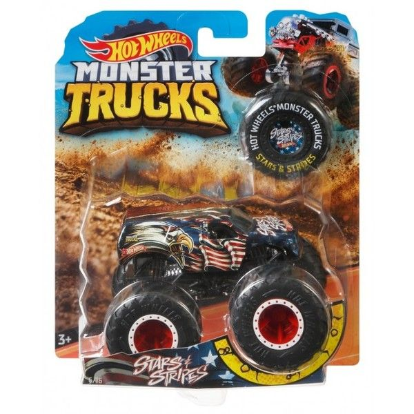 "Hot Wheels ""Monster Trucks"" masina de baza 1:64 (as)."