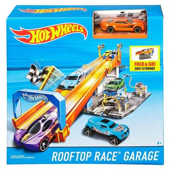 Hot Wheels Rooftop Race Garage