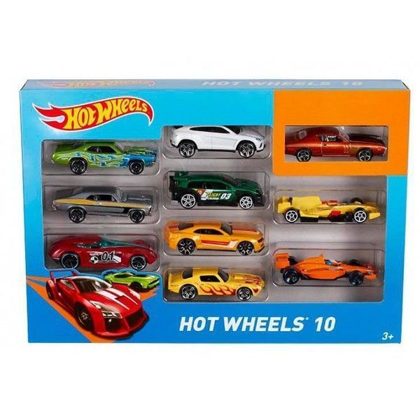 Hot Wheels Set 10 masini de baza (as).