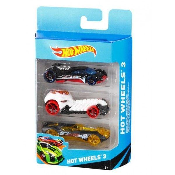 Hot Wheels Set 3 masini de baza (as).